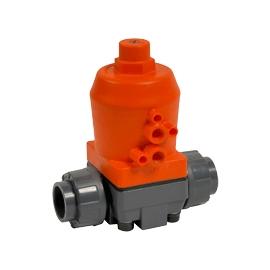 MV309 - Robinet pneumatic cu membrana PVC-u - PP - PVDF