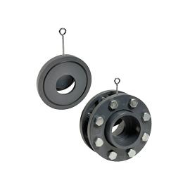 CS1 - Clapeta Wafer PVC-U