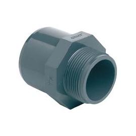 EACM - Adaptor filetat PVC-U