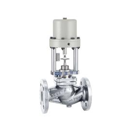 KD10 - Robinet ventil inox cu actionare pneumatica On-Off