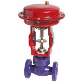 FLY - Robinet ventil  de reglaj cu actionare pneumatica