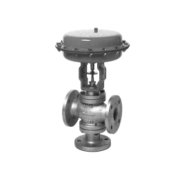 SM - Robinet ventil 3 cai de reglaj cu actionare pneumatica