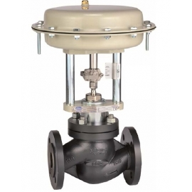 VL10R - Robinet ventil de reglaj cu actionare pneumatica