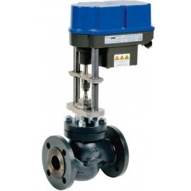 KD - Robinet ventil de reglaj cu actionare electrica si arc