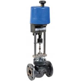 KD + PSL-AMS - Robinet ventil de reglaj cu actionare electrica