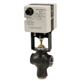VSB+MVB - Robinet ventil de reglaj cu actionare electrica 2 cai