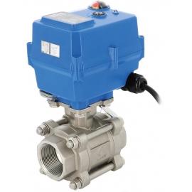746 CSV + TCR-T - Robinet sfera de reglaj cu actionare electrica TCR-T PN63
