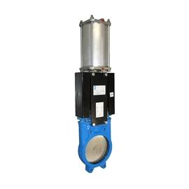 A1N2H - Robinet cutit fonta cu actionare pneumatica