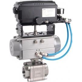 703XSFV - Robinet sfera de reglaj cu actionare pneumatica