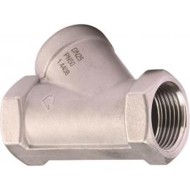 325 - Clapeta inox sens cu piston PN50