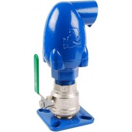 31132 - Aerisitor triplu efect fonta ductila cu robinet izolare