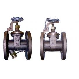 11921 - Robinet sertar bronz flanse PN20
