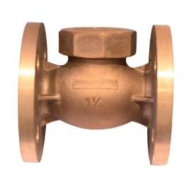 405 - Robinet retinere cu ventil bronz flanse PN30