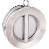 352 - Clapeta sens dublu disc inox etansare metal - metal