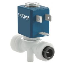 791 - Ventil electromagnetic actionare directa normal inchis cu conexiune push fit