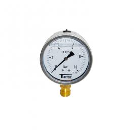 1615 - Manometre glicerina radial d100mm