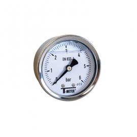 1622 - Manometre glicerina axial d50mm
