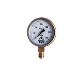 1635 - Manometre gaz d100mm