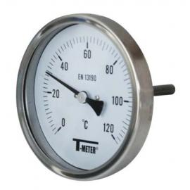 1680 - Termometre bimetal inox