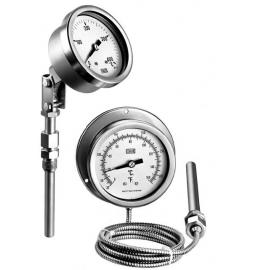 Termometre inox cu capilar