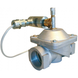 EV - Electroventil gaz rearmare manuala normal inchis