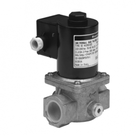 VE4000B1 - Electroventil gaz rearmare manuala normal inchis
