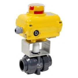 CL1 - Robinet sfera PVC-U cu actionare electrica